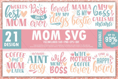 Mom svg Bundle SVG Designangry
