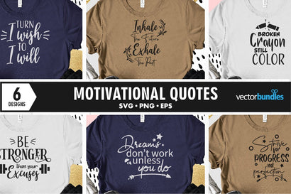 Motivational quote bundle svg SVG vectorbundles