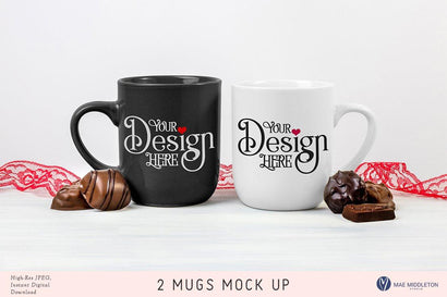 Mugs & Chocolates - Mock up Mock Up Photo Mae Middleton Studio