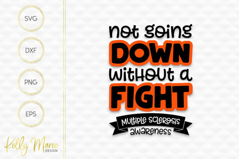 Multiple Sclerosis Awareness Cut File Kelly Maree Design