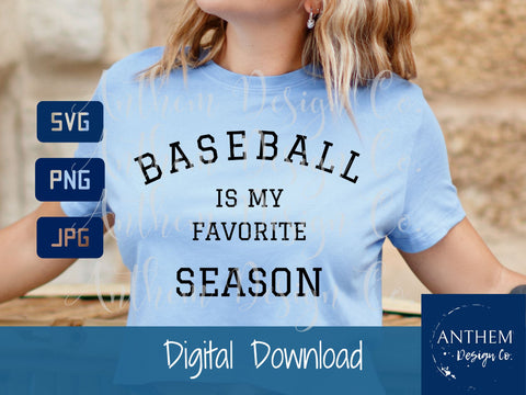 My Favorite Season SVG mini-bundle | Sport season svg | Sports mama svg | PNG JPEG SVG SVG Anthem Design Company