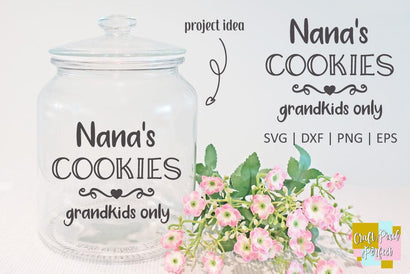 Nana Saying Cut Files SVG Craft Pixel Perfect