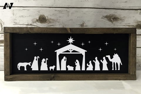 Nativity Svg, Christmas Svg, Jesus Birth Svg, Holy Night Svg SVG Pinoyart Kreatib