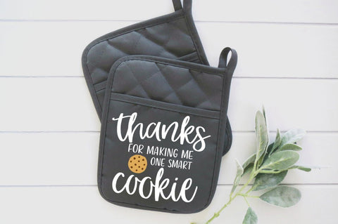 One Smart Cookie svg | Teacher svg | Teacher Gift svg | Thank You Teacher svg | Potholder SVG | For Teacher svg | Teacher Appreciation Gift SVG Simply Cutz
