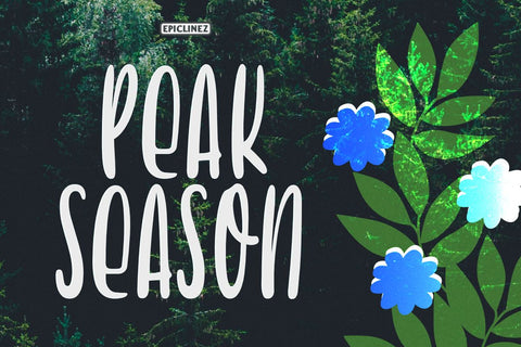 Peak Season Font Epiclinez