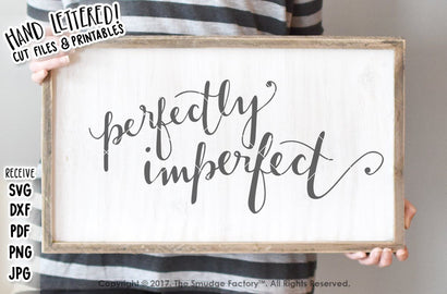 Perfectly Imperfect SVG The Smudge Factory