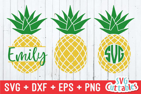 Pineapples SVG Svg Cuttables
