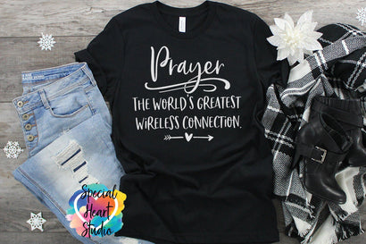 Prayer The Worlds Greatest Wireless Connection SVG Special Heart Studio