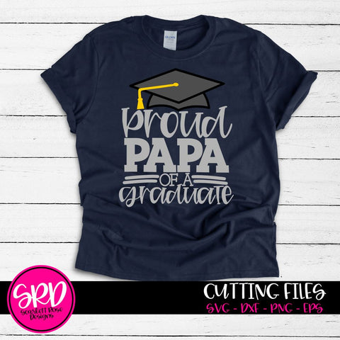 Proud Papa of a Graduate SVG SVG Scarlett Rose Designs