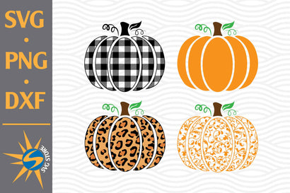 Pumpkin Bundle SVG, PNG, DXF Digital Files Include SVG SVGStoreShop