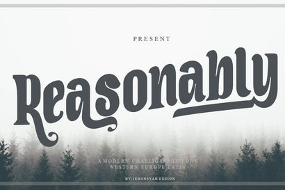 Reasonably Font JH-CreativeFont