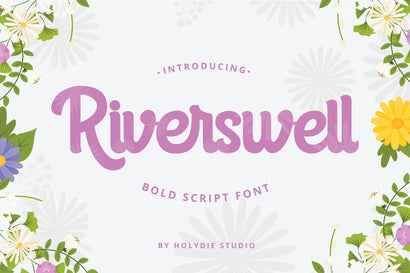 Riverswell Font Holydie Studio