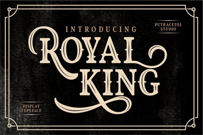 Royal King Font PutraCetol Studio