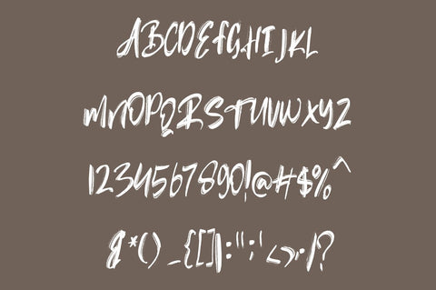 Rubin Key - Rough Font Font Vultype Co