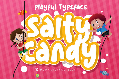 Salty Candy Font Dumadistyle