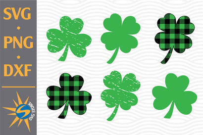 Shamrock SVG, PNG, DXF Digital Files Include SVG SVGStoreShop