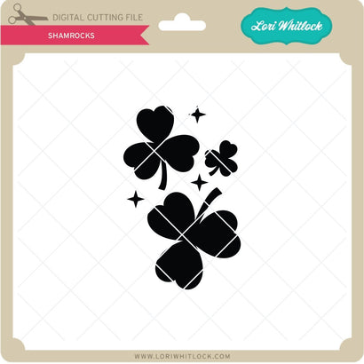 Shamrocks SVG Lori Whitlock