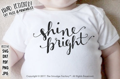 Shine Bright SVG The Smudge Factory