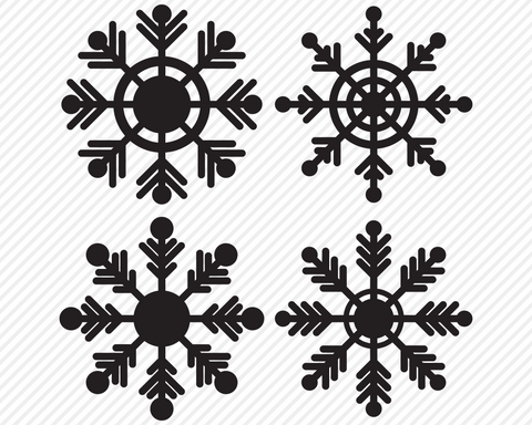 Snowflake Bundle | Christmas SVG SVG Texas Southern Cuts