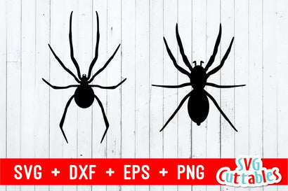 Spiders | Halloween Cut File SVG Svg Cuttables
