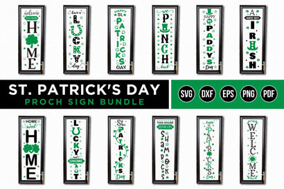 St Patrick's Day Porch Sign Bundle, St Patrick's Day SVG SVG CraftLabSVG