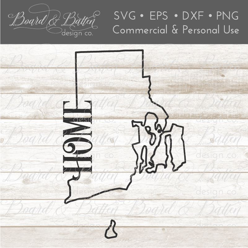 rhode island state outline svg dxf file stencil silhouette cameo cricut downloads clip art commercial use