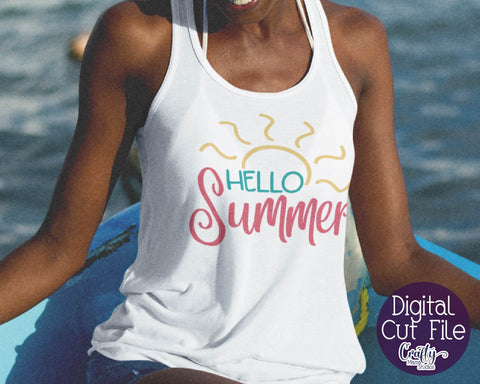 Summer SVG Bundle, Summer Shirt Designs, Beach SVG Bundle SVG Crafty Mama Studios