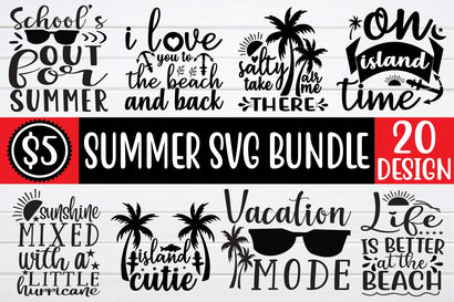 summer svg bundle vol 1 SVG buydesign