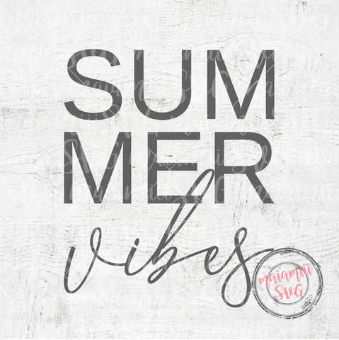 Summer Vibes Svg, Summer Svg, Vibes Svg, Summer Holiday Svg, Vacation Svg, Summer Vacation Svg, Cut File SVG MaiamiiiSVG