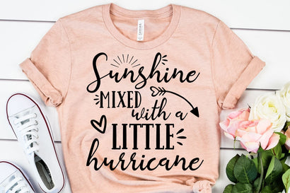 Sunshine Mixed With A Little Hurricane SVG - Funny SVG - Hurricane SVG SVG She Shed Craft Store