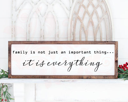 SVG DXF PNG, Family Everything svg, Farmhouse Sign, Home Decor svg, Family Quote, Inspirational svg, Country, Silhouette Cricut Cut File SVG Farmstone Studio Designs
