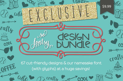 The Exclusive-to-So Fontsy Design Bundle Bundle So Fontsy Design Shop