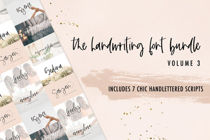 The Handwriting Font Bundle Vol. 3 Font Beck McCormick