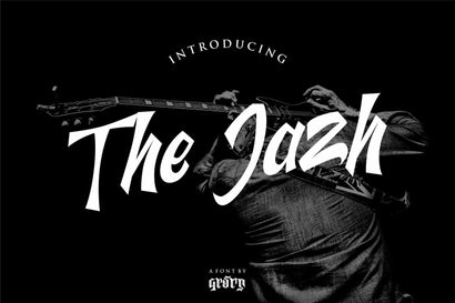 The Jazh Font Garisman Studio
