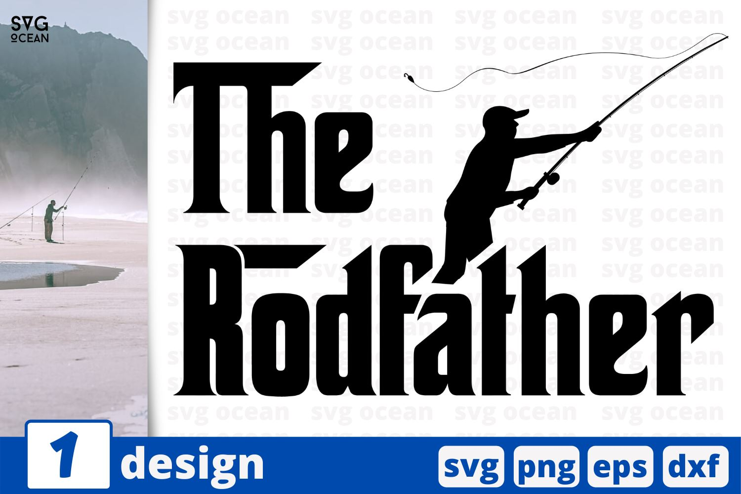 Download The Rodfather Fishing Quotes Cricut Svg So Fontsy