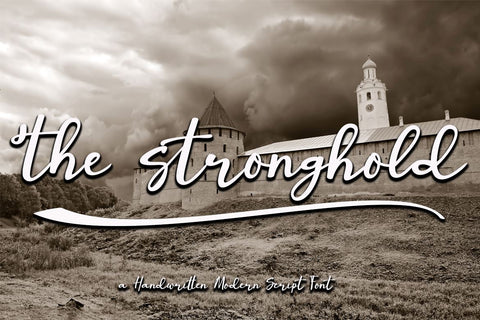 The Stronghold Font Supersemar Letter