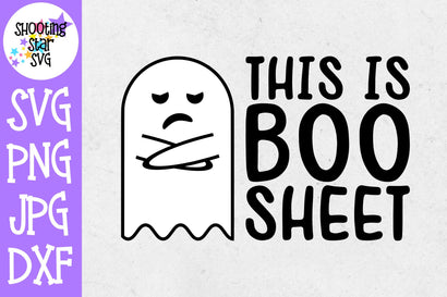 This is Boo Sheet SVG - Halloween SVG - Funny SVG SVG ShootingStarSVG