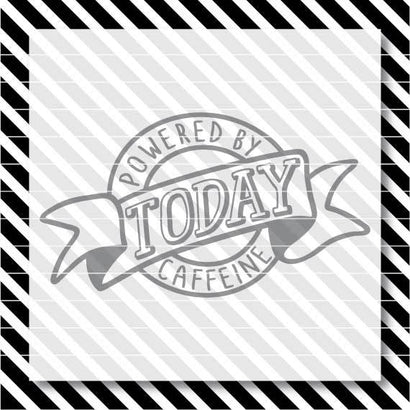 Today Powered By Caffeine SVG North Eighty