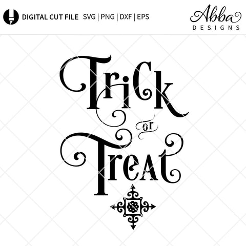 Trick or Treat SVG Abba Designs