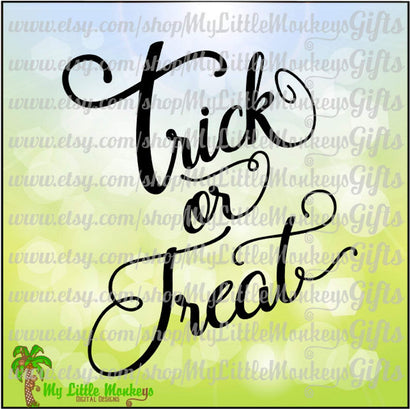 Trick or Treat SVG MLM Design Studio