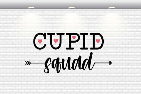 Valentine's Day - Cupid Squad - SVG, PNG, DXF, EPS SVG Elsie Loves Design