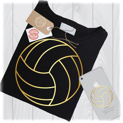 Volleyball Outline SVG Files for Cricut Mom Sport Designs - Gold Volleyball - Gold SVG - Volleyball SVG Files for Cricut - Svg Tshirt Design SVG My Sew Cute Boutique