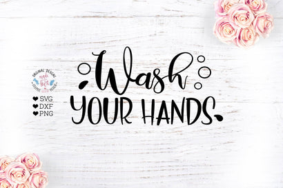 Wash Your Hands SVG Graphic House Design