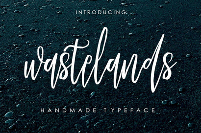 Wastelands Script Font Youngtype