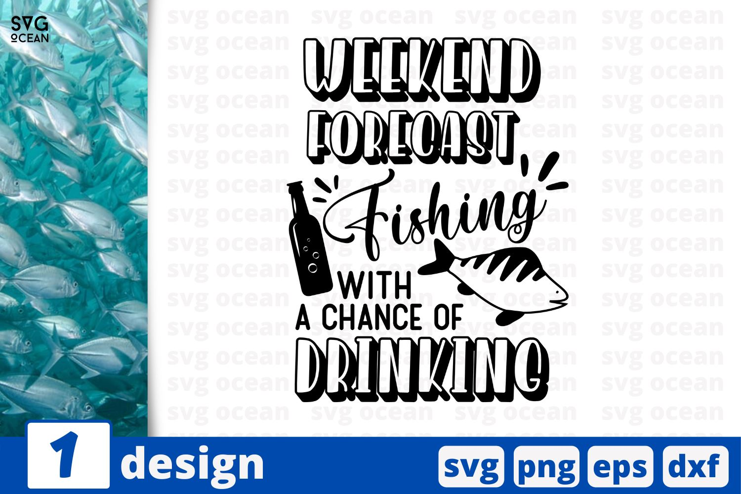 Download Weekend Forecast Fishing With A Chance Of Drinking Fishing Quotes Cricut Svg So Fontsy