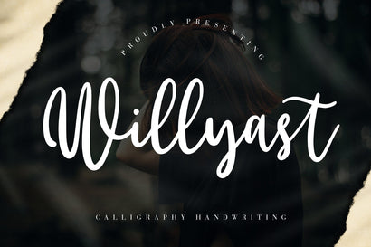 Willyast Calligraphy Handwriting Font Creatype Studio