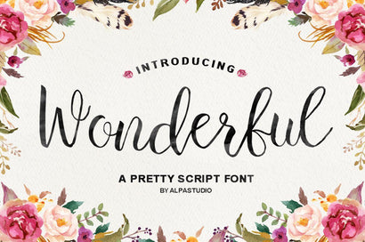 Wonderful Script Youngtype