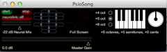 PsioTune™ - Multi-Sensory Thought to Music Transposer and Quantum Biofeedback Software (Mac Only)