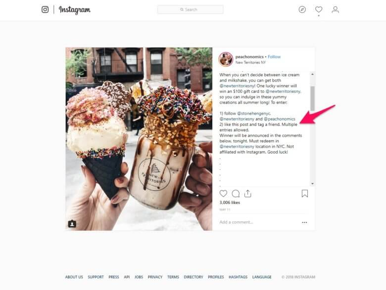 get more instagram followers by asking