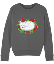 Load image into Gallery viewer, Winter Fox Sweatshirt - Womens